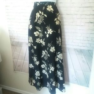 [VINTAGE] IN MODA long floral skirt